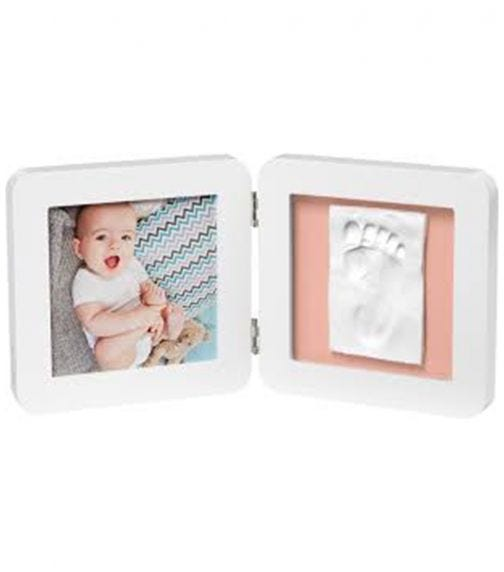 BABY ART My Baby Touch Simple Print Frame - White