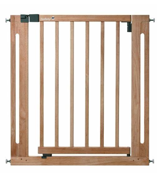 SAFETY 1st U-Pressure Fit Easy Close Wood Gate