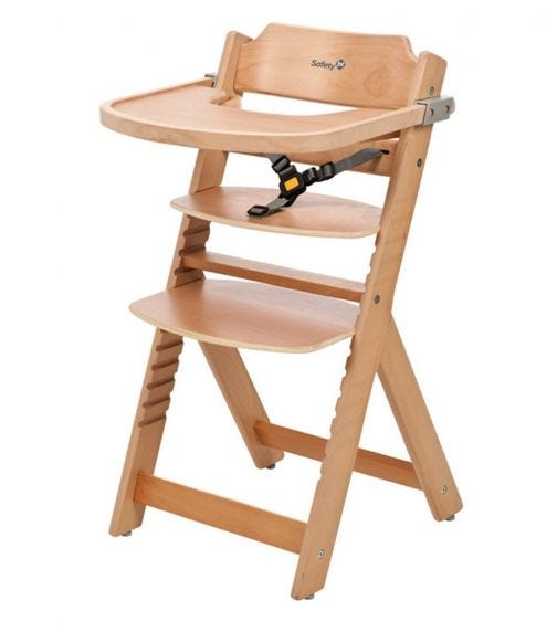 SAFETY 1st Timba With Tray Included High Chair - Natural Wood