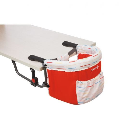 SAFETY 1st Smart Lunch Feeding Booster Red Lines