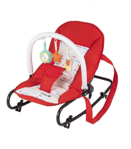 SAFETY 1st Koala Bouncer Red Lines