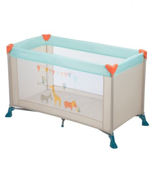 SAFETY 1st Soft Dreams Travel Cot Happy Day