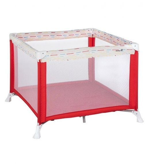 SAFETY 1st Circus Playpen Red Lines