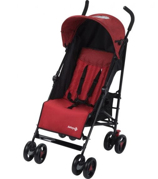 SAFETY 1st Rainbow Stroller Ribbon Red Chic