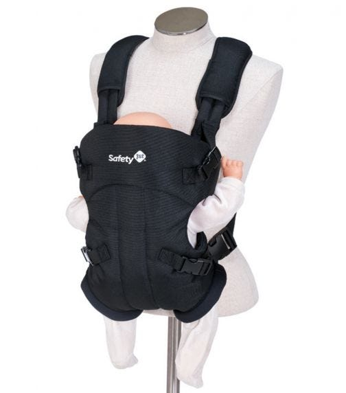 SAFETY 1st Mimoso Baby Carrier Full Black