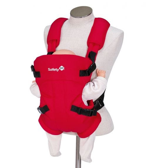 SAFETY 1st Mimoso Baby Carrier Plain Red