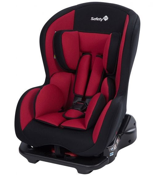 SAFETY 1st Sweet Safe Car Seat Full Red