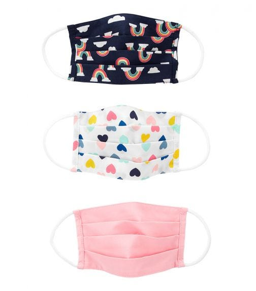 CARTER'S Cloth Face Mask - 3 Pack B