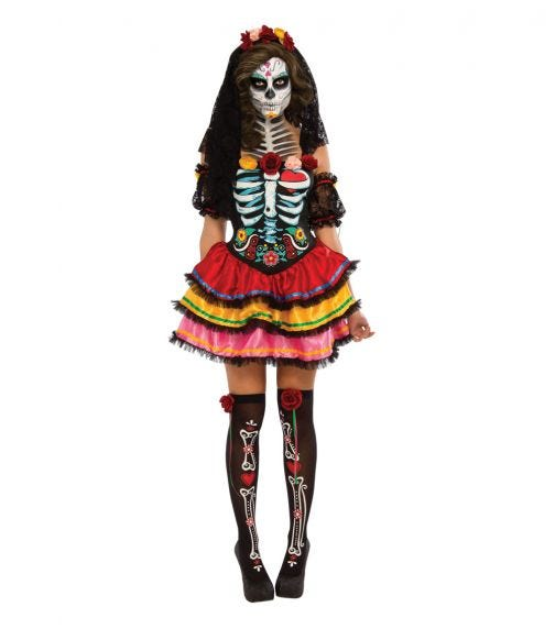 RUBIES Day Of The Dead Seniora