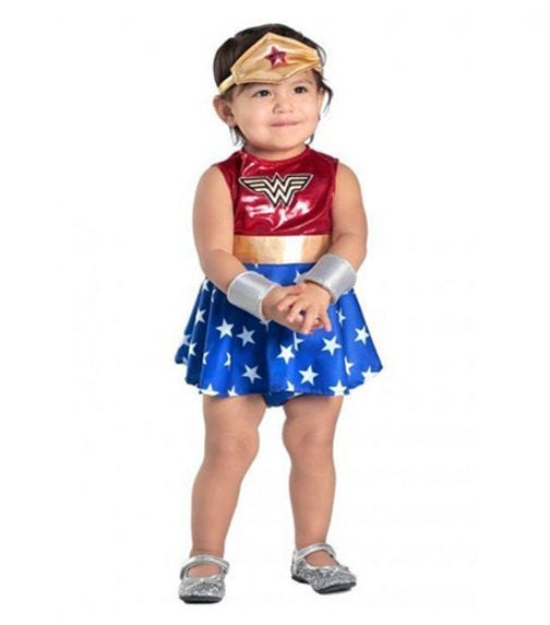 RUBIES Newborn Wonder Women