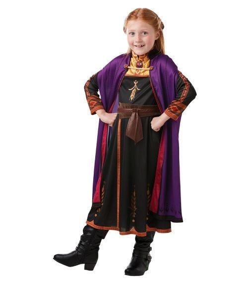 RUBIES Frozen 2-Anna Travel Dress Classic