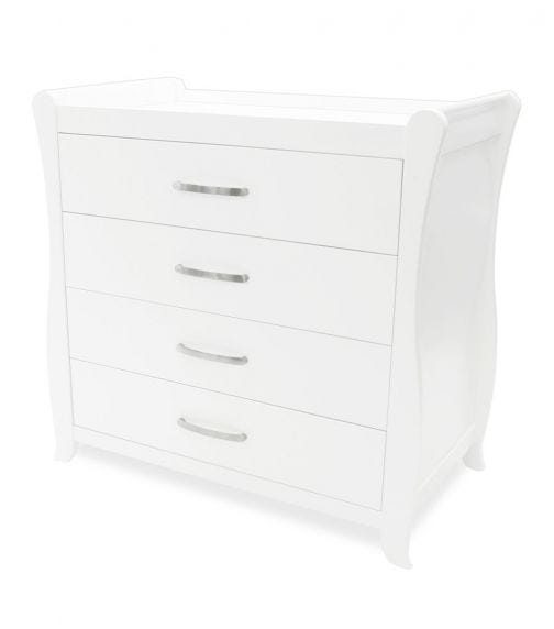 BABYHOOD Sleigh Chest Of Drawers And Change Table