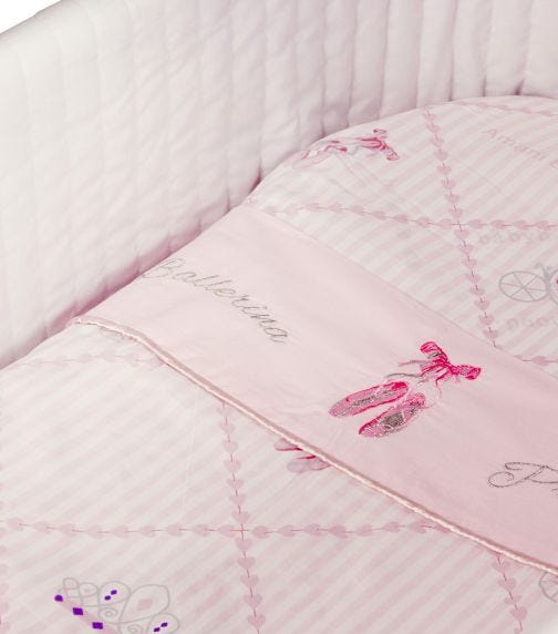 BABYHOOD Amani Bebe Ballerina Princess 3 Piece Bassinet Sheet