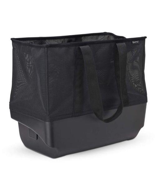 QUINNY Hubb Extra Extra Large Shopping Basket Black