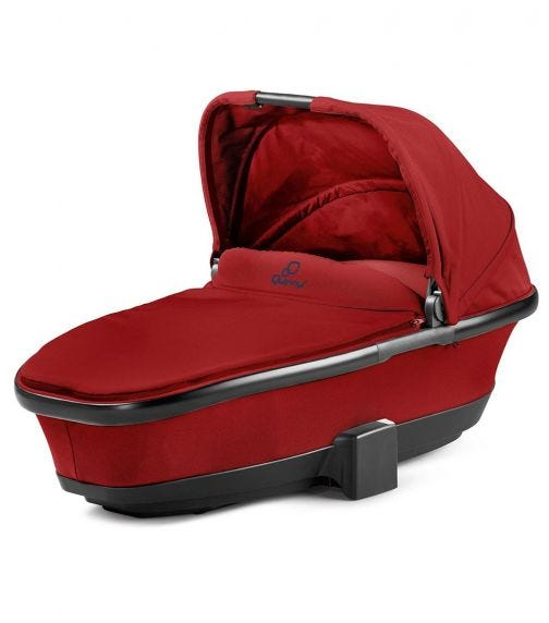 QUINNY Foldable Carry Cot Red Rumour