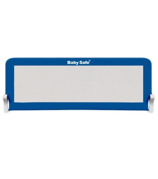 BABY SAFE Safety Bed Rail (120X42Cm) Blue