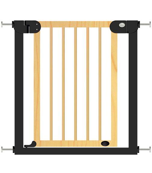 BABY SAFE Wooden Safety Gate - Natural Wood