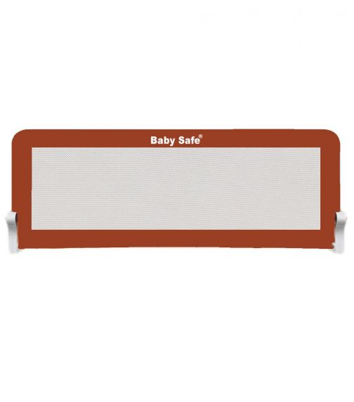 BABY SAFE Safety Bed Rail - Extra Large (150X42Cm) Brown