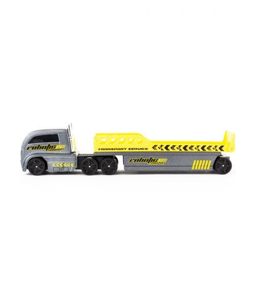 MAISTO Fresh Metal - Robotic Transport Service - Grey & Yellow