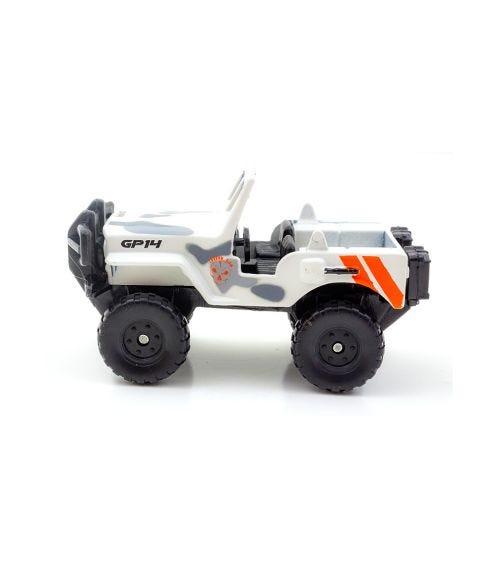 MAISTO Fresh Metal - Millitary Jeep - White Camo
