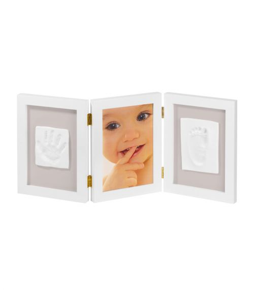 BABY ART My Sweet Memories - Photo Frame With 2 Prints - White