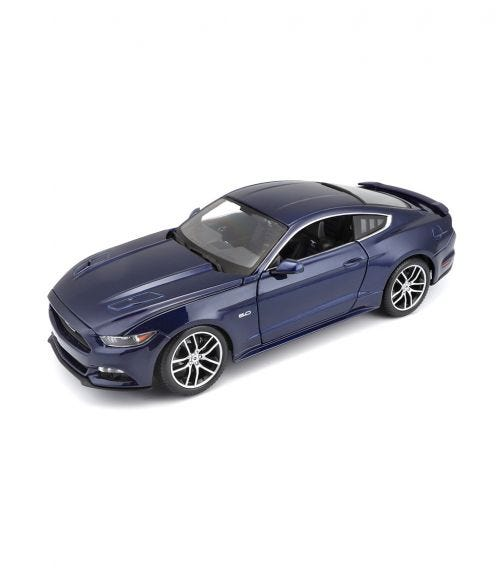 MAISTO 1:18 Scale - Ex-Ford Mustang - Blue