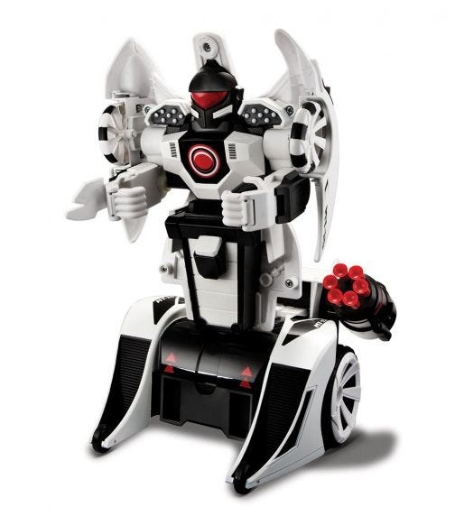 MAISTO Remote Controlled - Twist And Shoot - White