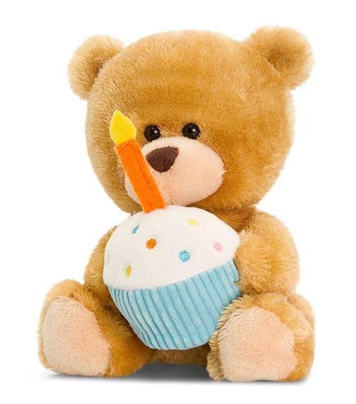 KEEL TOYS UK 14 cm Pipp The Bear Happy Birthday Soft Toy