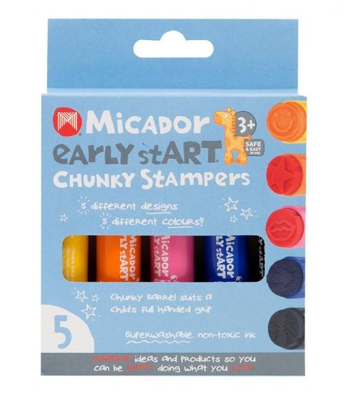 MICADOR Chunky Stampers (Pack Of 5)