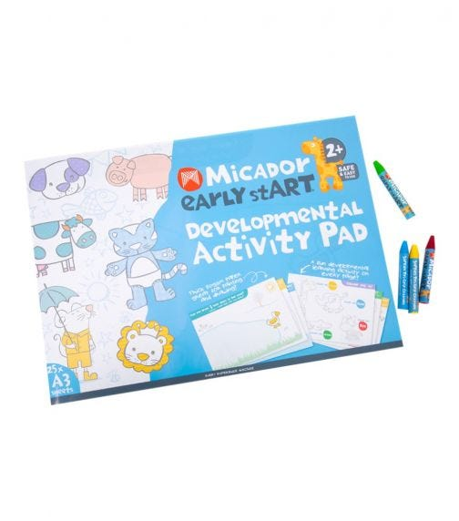 MICADOR Early Starts Developmental Activity Pad For Kids