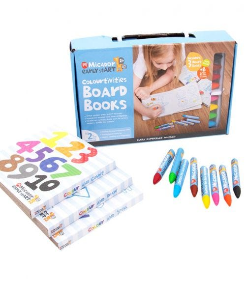 MICADOR Colourtivities Board Books For Kids