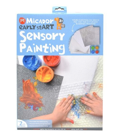 MICADOR Sensory Painting Pack For Kids
