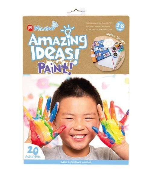 MICADOR Amazing Ideas Activity Pack - Paint For Kids