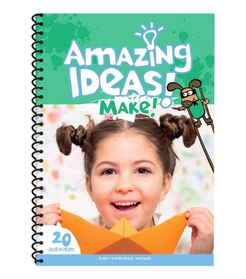 MICADOR Amazing Ideas Activity Pack For Kids