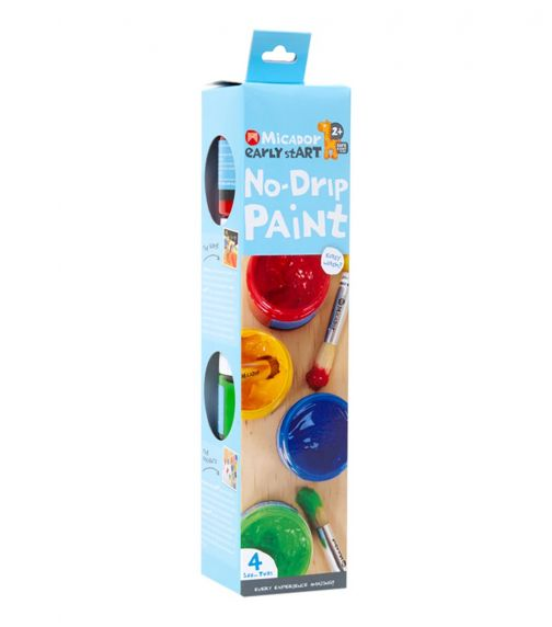 MICADOR No Drip Paint (Pack Of 4) Early Start Series
