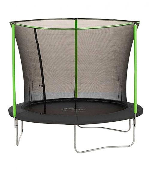 PLUM 2.5 Meter Springsafe Fun Trampoline With Safety Enclosure