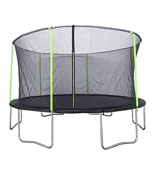 PLUM 4.4 Meter Springsafe Fun Trampoline With Safety Enclosure