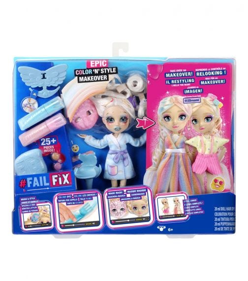 FAIL FIX S1 Epic Color N Style Makover Pack - 2Dreami