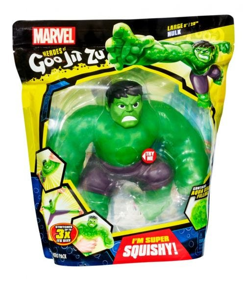 GOO JIT ZU Marvel S2 Sup Hero Pack - Hulk