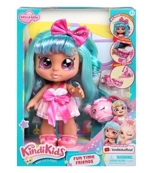 KINDI KIDS S4 Fun Time Doll Single Pack - Bella Bow
