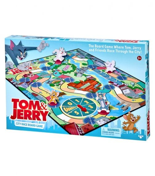 TOM & JERRY S1 Boardgame
