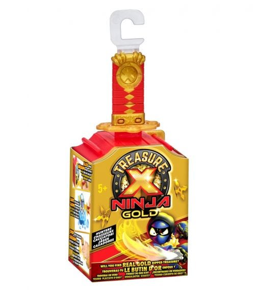 TREASURE X Surprise Collectable Toy - S6 Single Pack 18 Pieces