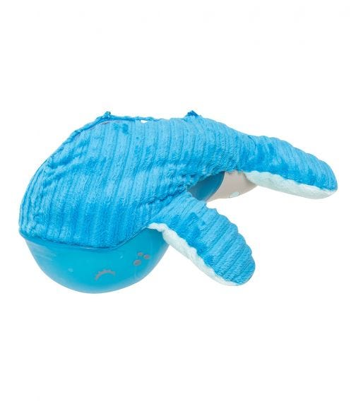 INFANTINO Whale Sail Away Baby Mobile Night Light - Lullaby Player Nursery Toy - Night Up Pal