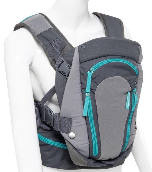 INFANTINO - Carry On Multi-Pocket Carrier - Blue