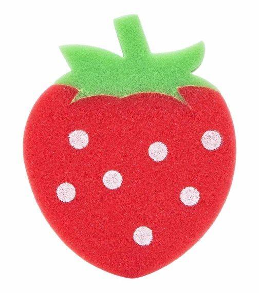 REEMA VISION Loveliest Baby Bath Sponge - Strawberry