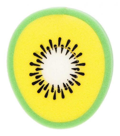 REEMA VISION Loveliest Baby Bath Sponge - Kiwi