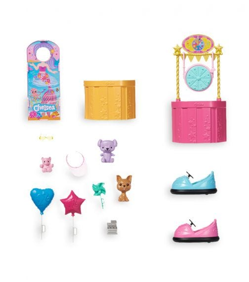 BARBIE Club Chelsea With Doll Carnival Playset