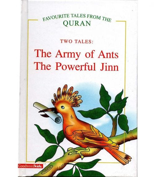 GOODWORD The Army Of Ants, The Powerful Jinn (Hardback Cover)