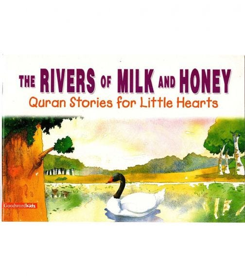 GOODWORD Rivers Of Milk And Honey (Paperback Cover)