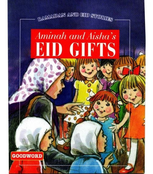 GOODWORD Aminah And Aisha's Eid Gifts (Paperback Cover)